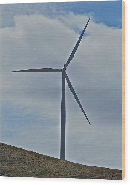 Wind Power 4 Wood Print