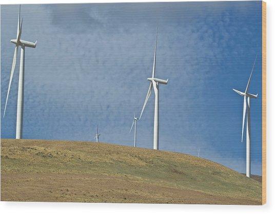 Wind Power 5 Wood Print