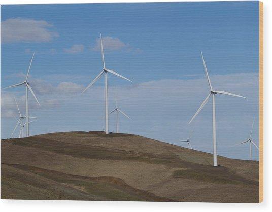Wind Power 7 Wood Print