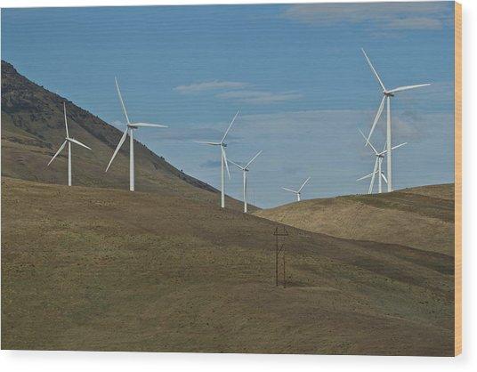 Wind Power 9 Wood Print