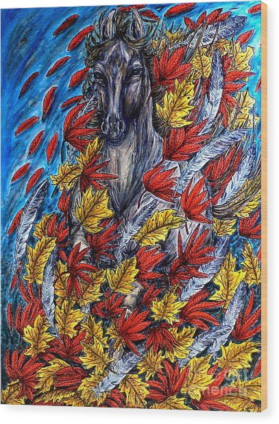 Wind Spirit Wood Print