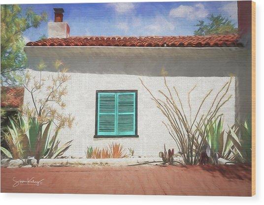Window In Oracle Wood Print