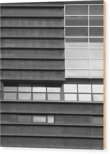 Windows 01 Wood Print by Sephora Silva