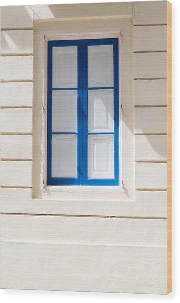 Windows Of The World 6 Wood Print