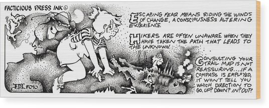 Winds Of Change Fpi Cartoon Wood Print