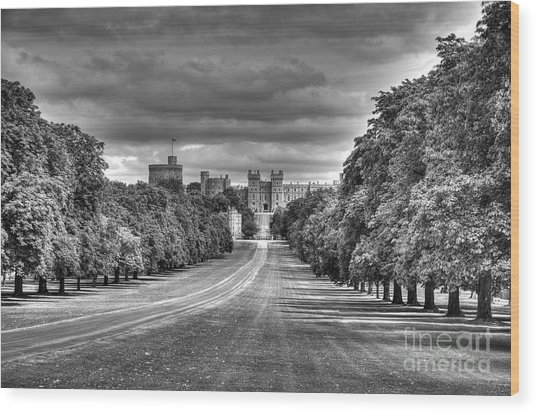 Windsor Castle  Infrared Wood Print