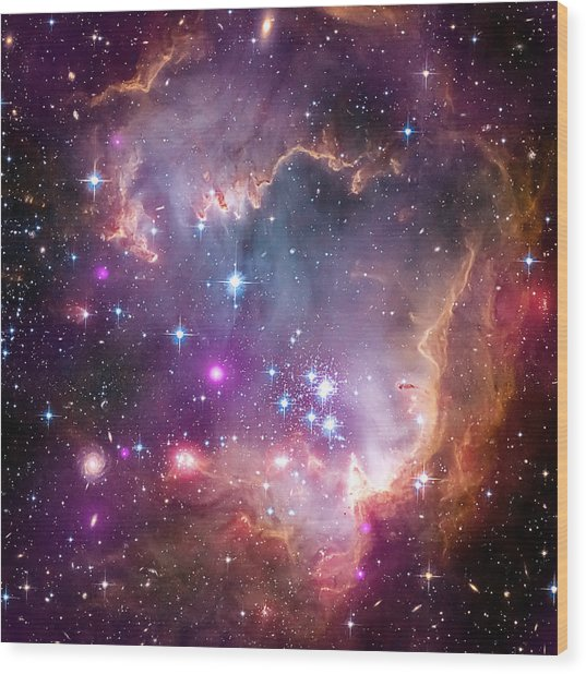 Wing Of The Small Magellanic Cloud Wood Print