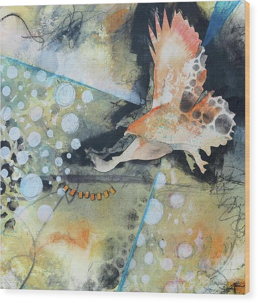 Wings And A Prayer Wood Print