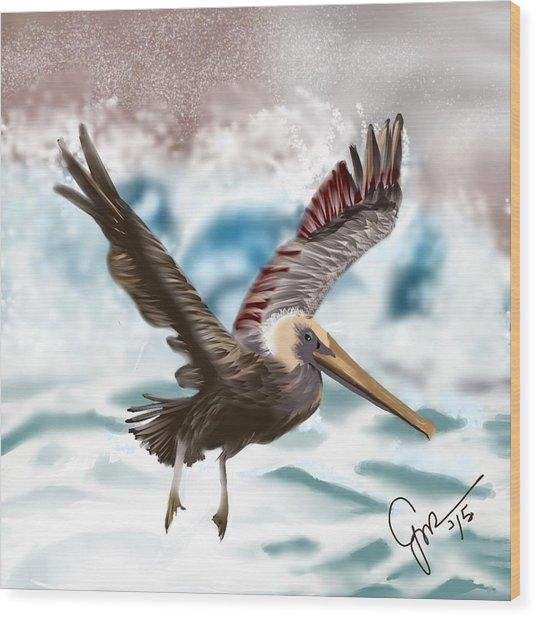 Wings IIi Wood Print