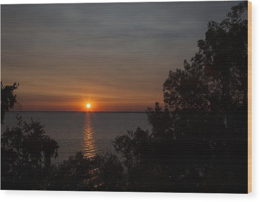 Winnebago Sunset Wood Print