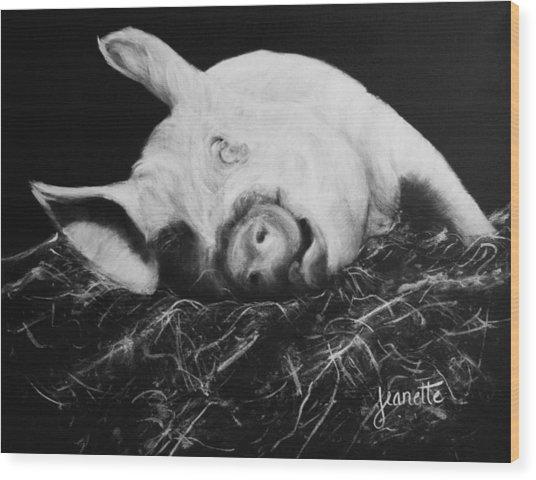 Winnie Wood Print