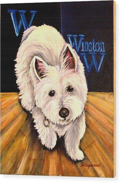 Winston Wood Print by Carol Allen Anfinsen