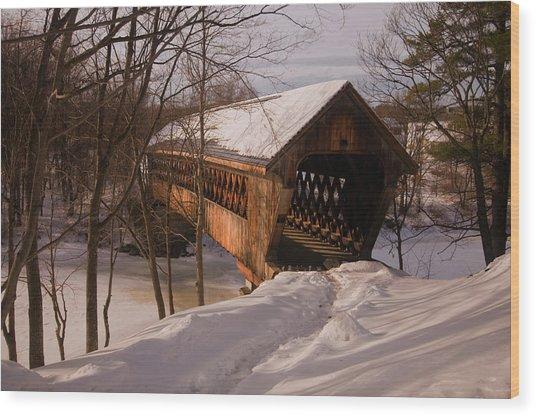 Winter Henniker Wood Print