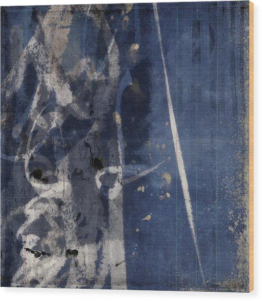 Winter Nights Series Five Of Six Wood Print