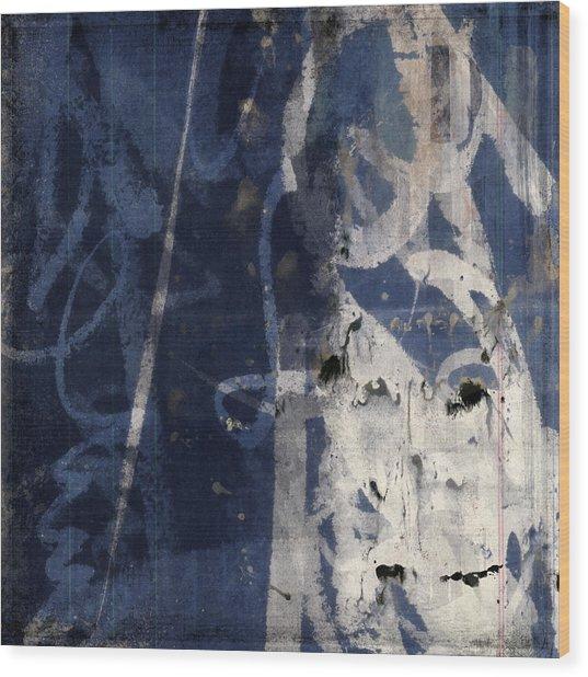 Winter Nights Series Two Of Six Wood Print