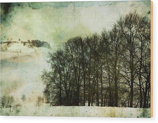 Winter Remembrances Wood Print