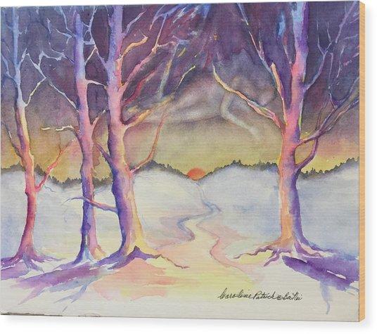 Winter Spirit  Wood Print