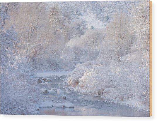 Winter Wonderland - Colorado Wood Print
