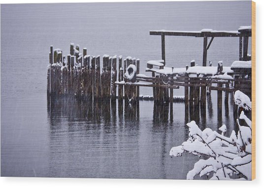 Winterized Wood Print