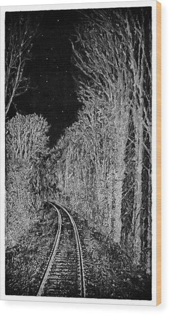 Winterreise Wood Print