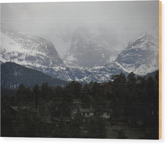 Winters Touch Wood Print