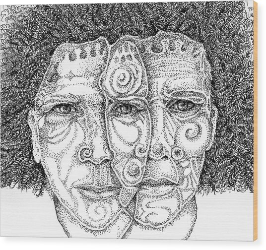 Wise Words-two Heads Are Better Than One Wood Print