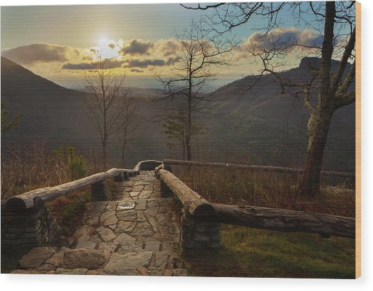 Wisemans View Wood Print