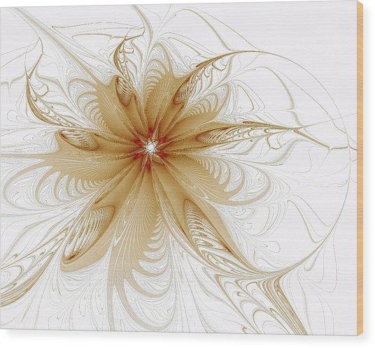 Wispy Wood Print