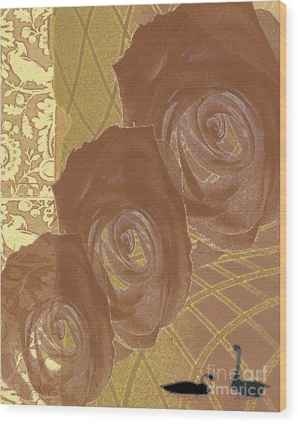 Witness Wood Print by Pederbeck Arte Gruppe