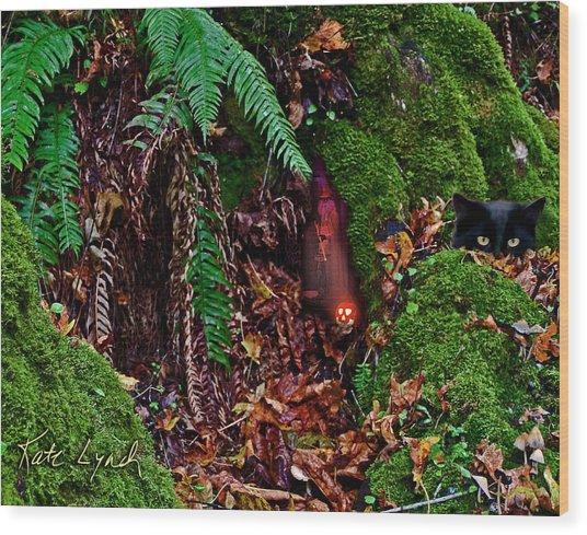 Wizard Wood Wood Print