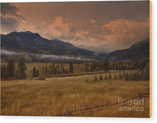 Wolf Creek Pass Wood Print