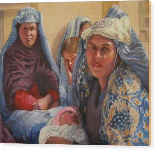 Women Of War Wood Print