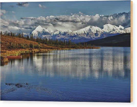 Wonder Lake IIi Wood Print