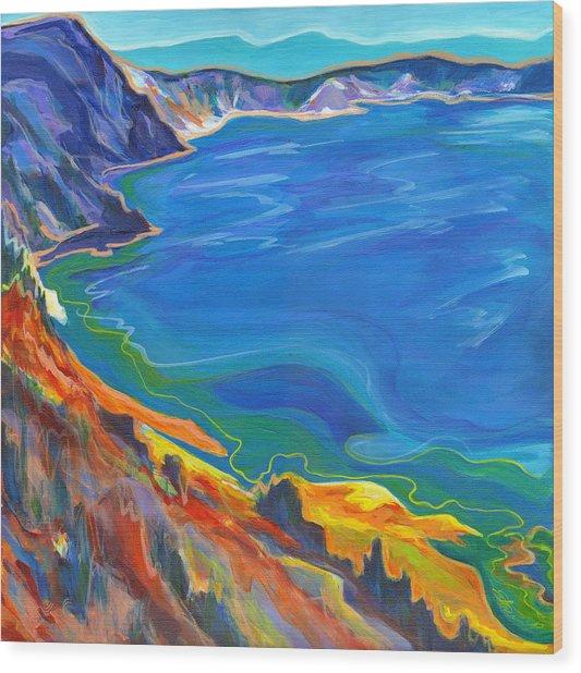 Wonder Lake  Wood Print