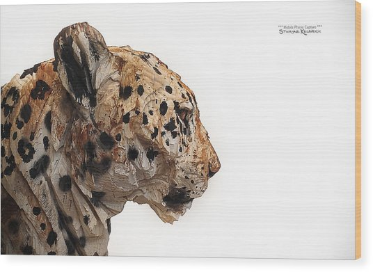 Wood Print featuring the photograph Wooden Panther by Stwayne Keubrick