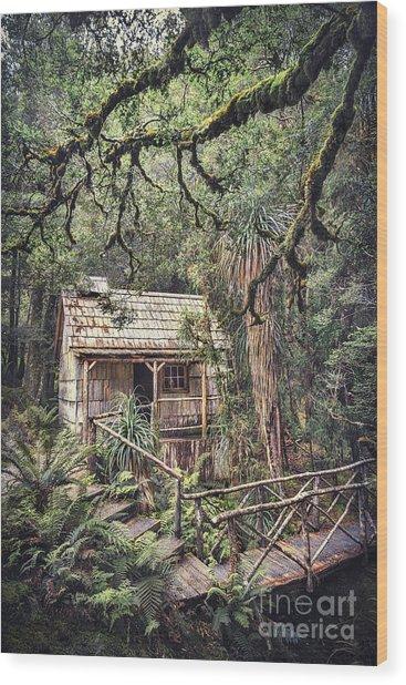 Woodland Mysteries Wood Print