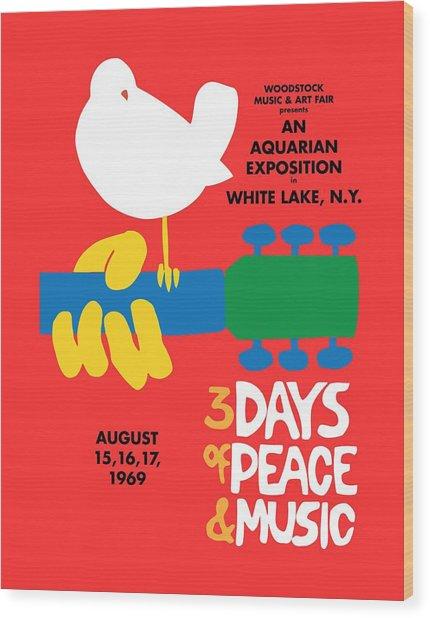 Woodstock Wood Print