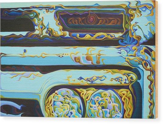 Woohooxidaisical Corrustination Wood Print