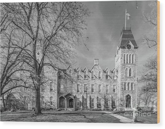 Worcester Polytechnic Institute Boyton Hall Wood Print by University Icons