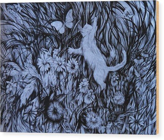 World Of Joy Wood Print
