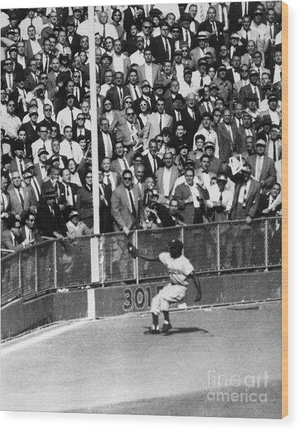 World Series, 1955 Wood Print