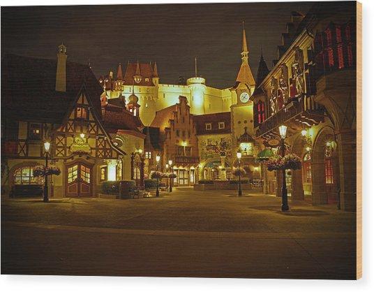 World Showcase - Germany Pavillion Wood Print