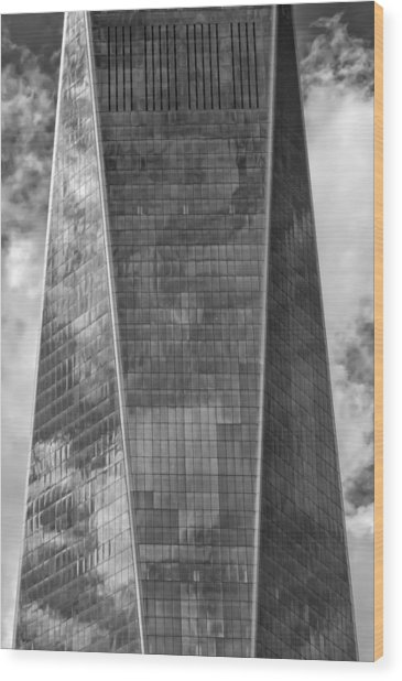 World Trade Center 2015 Wood Print by Robert Ullmann