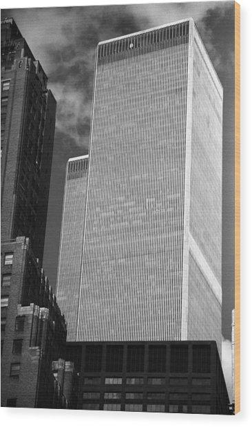 World Trade Center Wood Print by Eric Foltz