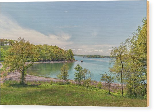 Worlds End Hingham Massachusetts Wood Print