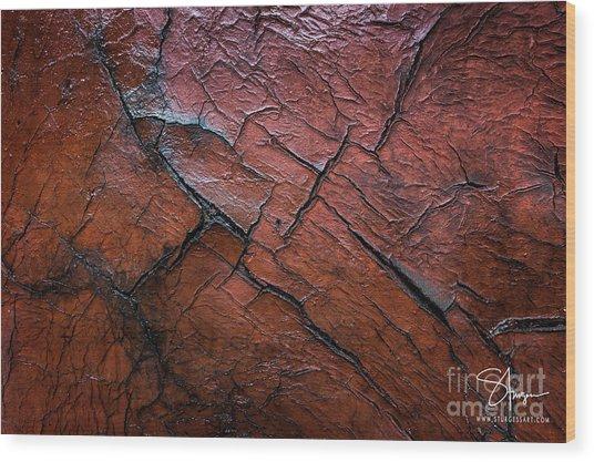 Worn And Weathered Wood Print