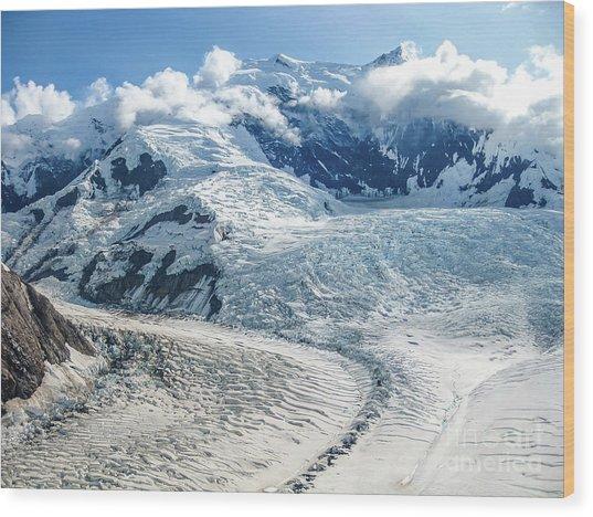 Wrangell Alaska Glacier Wood Print