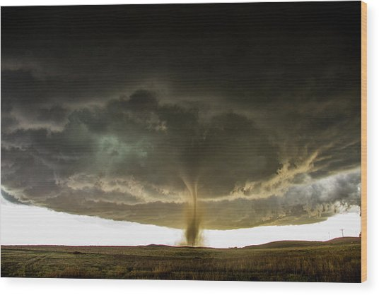 Wray Colorado Tornado 060 Wood Print