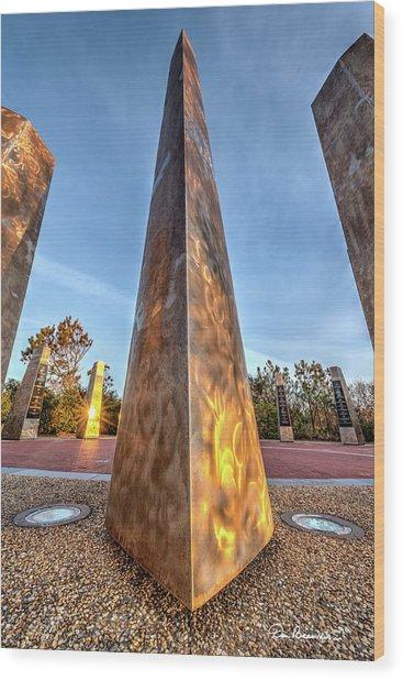Wright Pylons 5094 Wood Print