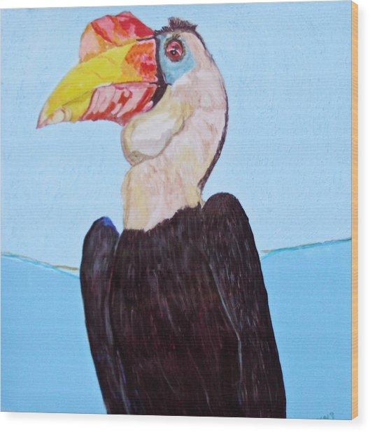 Wrinklebill Wood Print